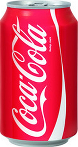 Foto coca cola blik 330ml